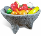Molcajetes - Wooden Bowls - Paper Mache Produce and Ristras