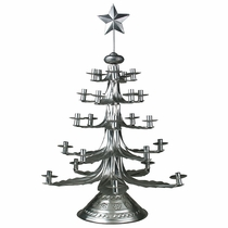 Natural Tin Christmas Candletrees