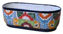 Oval Talavera Planter