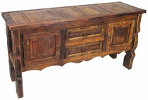 Ox Yoke Buffet Table