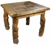 Ox Yoke Square Bistro Table