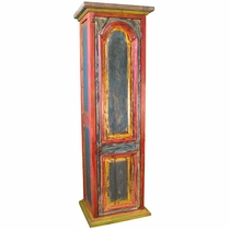 Painted Wood Wine Cabinet