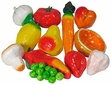 Paper Mache Fruit & Vegetables - 1 Dozen