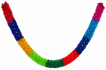 Paper Worm Party Banners - Fiesta Decorations - Set of 2