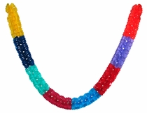 Plastic Worm Party Banners - Fiesta Decorations - Set of 2