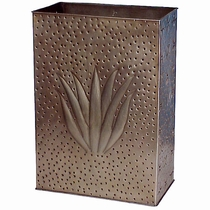 Punched Tin Agave Wall Sconce