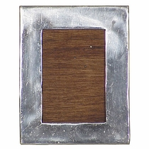 Rectangular Mexican Pewter Frame