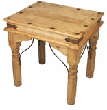Rustic Mexican Pine Living Room Furniture