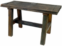 Rustic Old Door Sofa Table