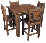 Rustic Old Wood Dining Furniture & Bars