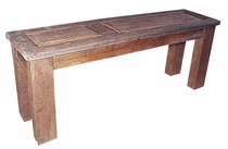 Rustic Old Wood Sofa Table