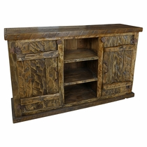 Rustic Parota Wood Buffet
