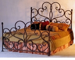 Rustic Wrought Iron Bedroom Furniture