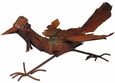 Rusty Iron Roadrunner Sculpture