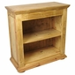 Short Pine Mexican Bookcase