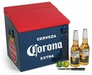 Small Corona Cooler Red & Blue - Metal