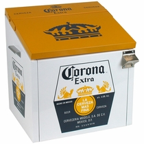 Small Corona Cooler Yellow & White