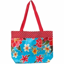 Small Lined Oilcloth Bag