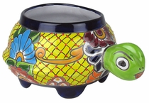 Small Talavera Turtle Planter