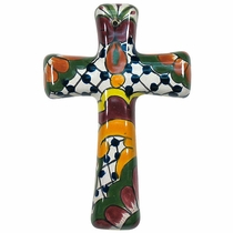 Small Taper Talavera Cross