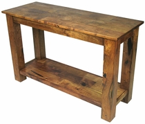Southwest Mesquite Sofa Table