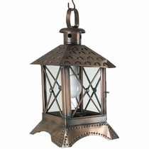 Square Cross Bar Light fixture