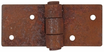 Square Rustic Iron Hinge - Pack of 4