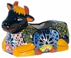Talavera Cow Planter Pot