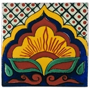 Talavera Flower Tile - PP2138 - 15 Tiles