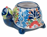 Talavera Pottery Animal Flower Pots