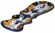 Talavera Swallow Spoon Rest