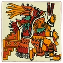 Talavera Tile - Aztec Kitchen Goddess - PP2018 - 15 Tiles