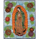 Mexican Tile Mural - Virgin de Guadalupe