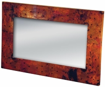 Western Frame Copper with Diamond Nail Pattern