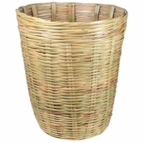 X-Large Hand Woven Mexican Cane Basket
