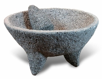 "X-Large Molcajete Mortar and Pestle - 17"" Dia."