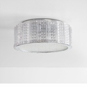 Aaria 2 Light Ceiling Mount Silver by Cyan Design
