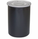 Airscape Stainless Obsidian Black Air Tight Canister 7 in.