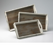 Alder Nesting Trays Set (3) by Cyan Design