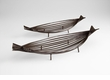 Alexia Iron and Glass Trays by Cyan Design