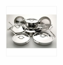All Clad 14 Piece Stainless Steel Cookware Set