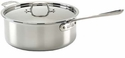 All Clad 6 Quart Deep Saute Pot Stainless Steel