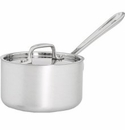 All Clad MC2 1.5 Quart Sauce Pan with Lid