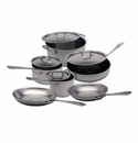 All Clad MC2 10 Piece Cookware Set