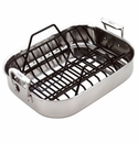 All-Clad Petite Roti  Roasting Pan with Rack