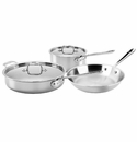 All Clad Stainless Steel 5 Piece Cookware Set