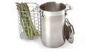 All Clad Stainless Steel Asparagus Pot with Insert