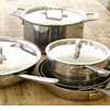 All Clad Stainless Steel Cookware, Ovenware & Utensils