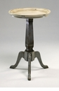 Alton Distressed Gray Side Table by Cyan Design
