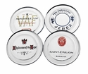 America Retold French Wine Glass Coasters (4)